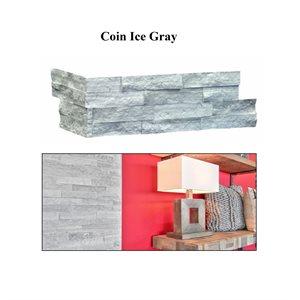 Série Ice gray * Coin 6x16