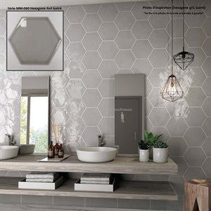 Série MM060 * Hexagone 4x4 gris