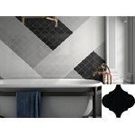 Série Alhambra • 5x5 Noir mat