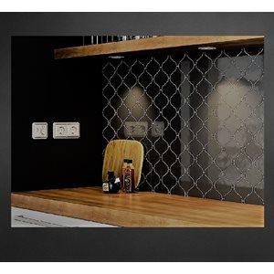 Série Alhambra * 5x5 Noir poli