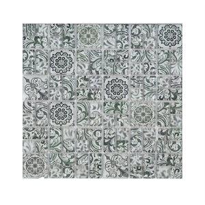 Série Verre Floral * Blanc