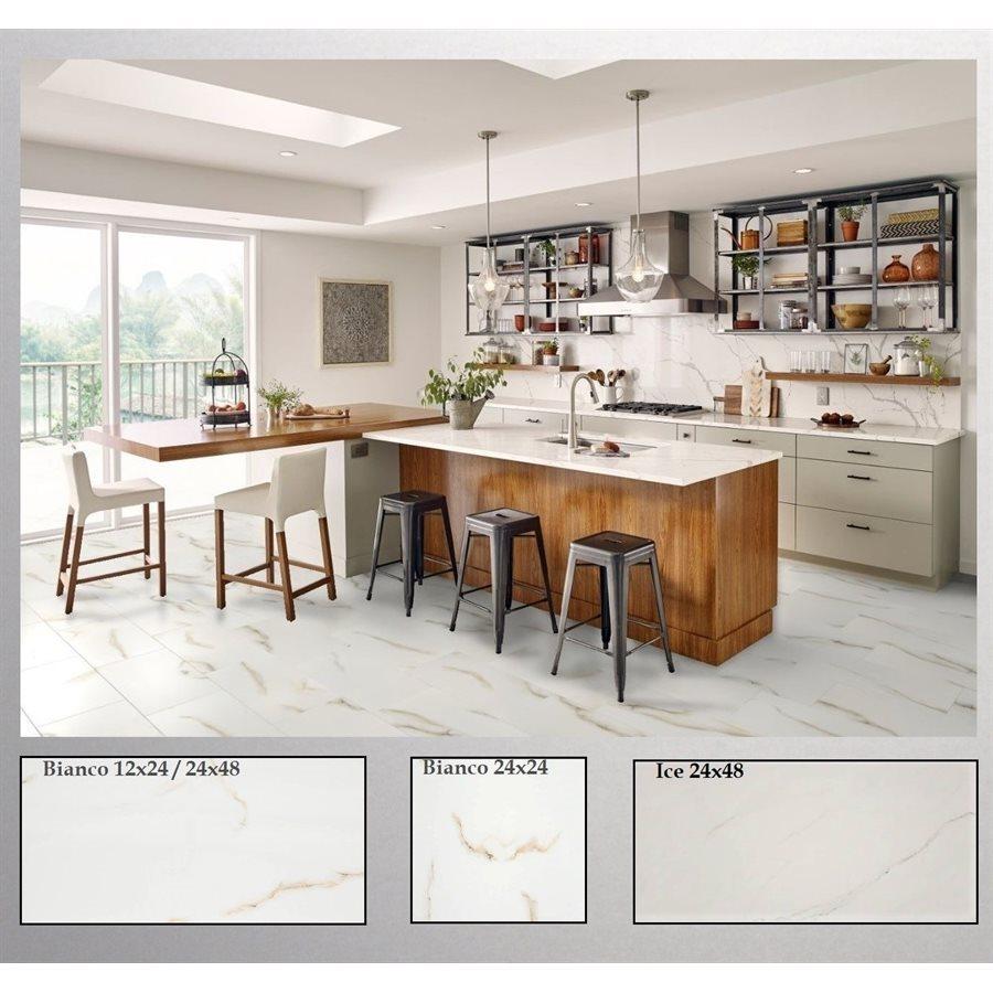 tuiles imitation marbre cuisine serie aria