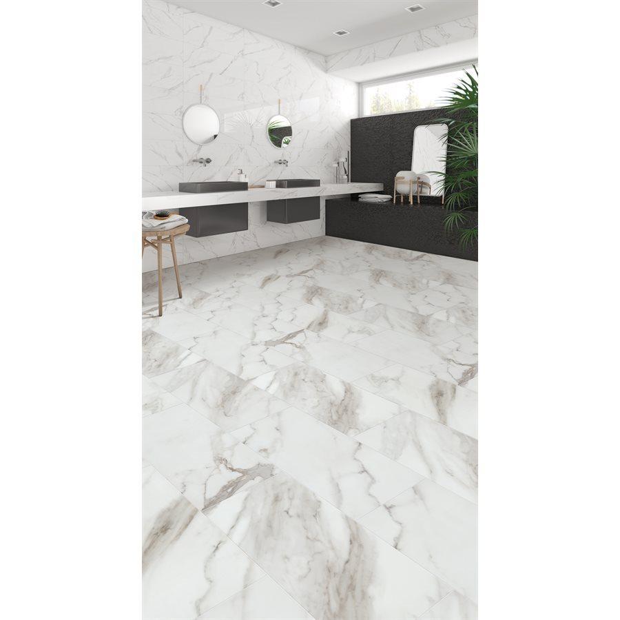 vinyle clic salle de bain encore tile bianco roomscene z